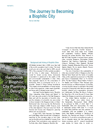 The Journey to Becoming of Biophilic City