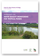 CS C01:2013 - GUIDELINES ON WATER QUALITY MONITORING FOR TROPICAL PONDS