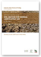 CS A03:2013 - SPECIFICATIONS FOR SOIL MIXTURE FOR GENERAL LANDSCAPING USE