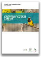 Design Guides to Promote Biodiversity on Roof Gardens