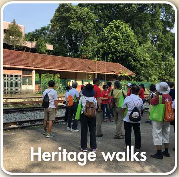 Heritage walks