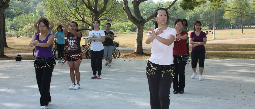 A Belly Good Dance Class at Pasir Ris Park