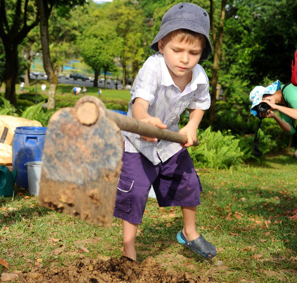 The Littlest Tree-Planters