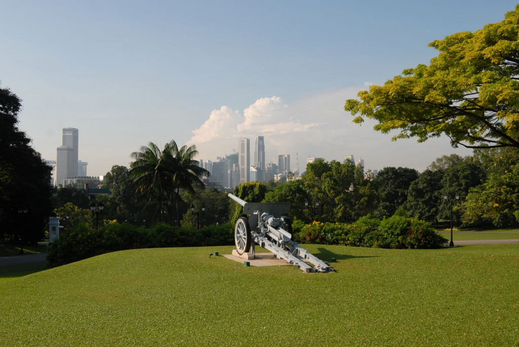 The Istana's Green Guardian