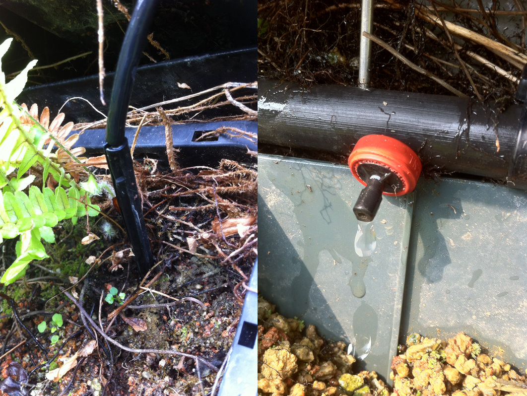 Irrigation Systems Come In Many Different Configurations. Shown Here Are  Two Types Of Drip Irrigation Nozzles.