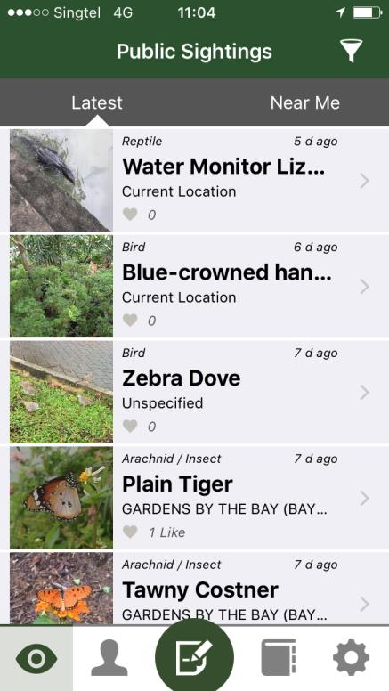 Ready? Aim! 'Shoot!' – Crowdsourcing Biodiversity Sightings from the Community