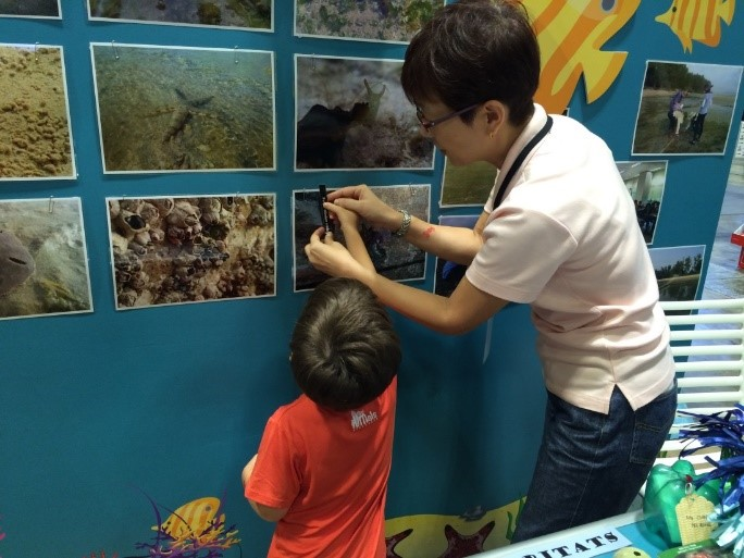 Intertidal Watch outreach at ADEX 2016