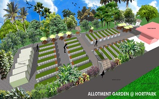 Allotment Gardening Plots