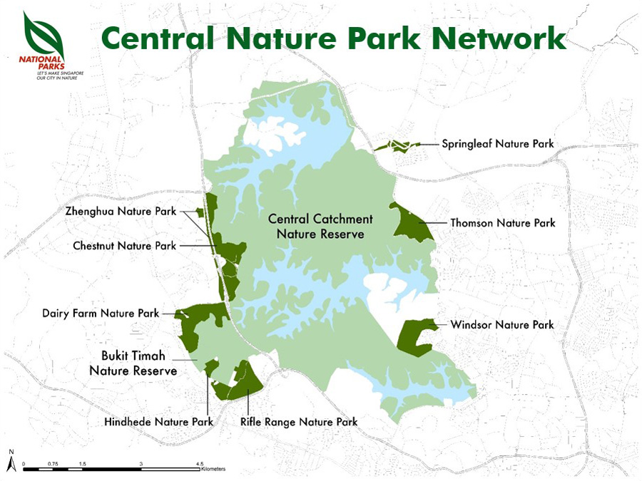 Central Nature Park Network