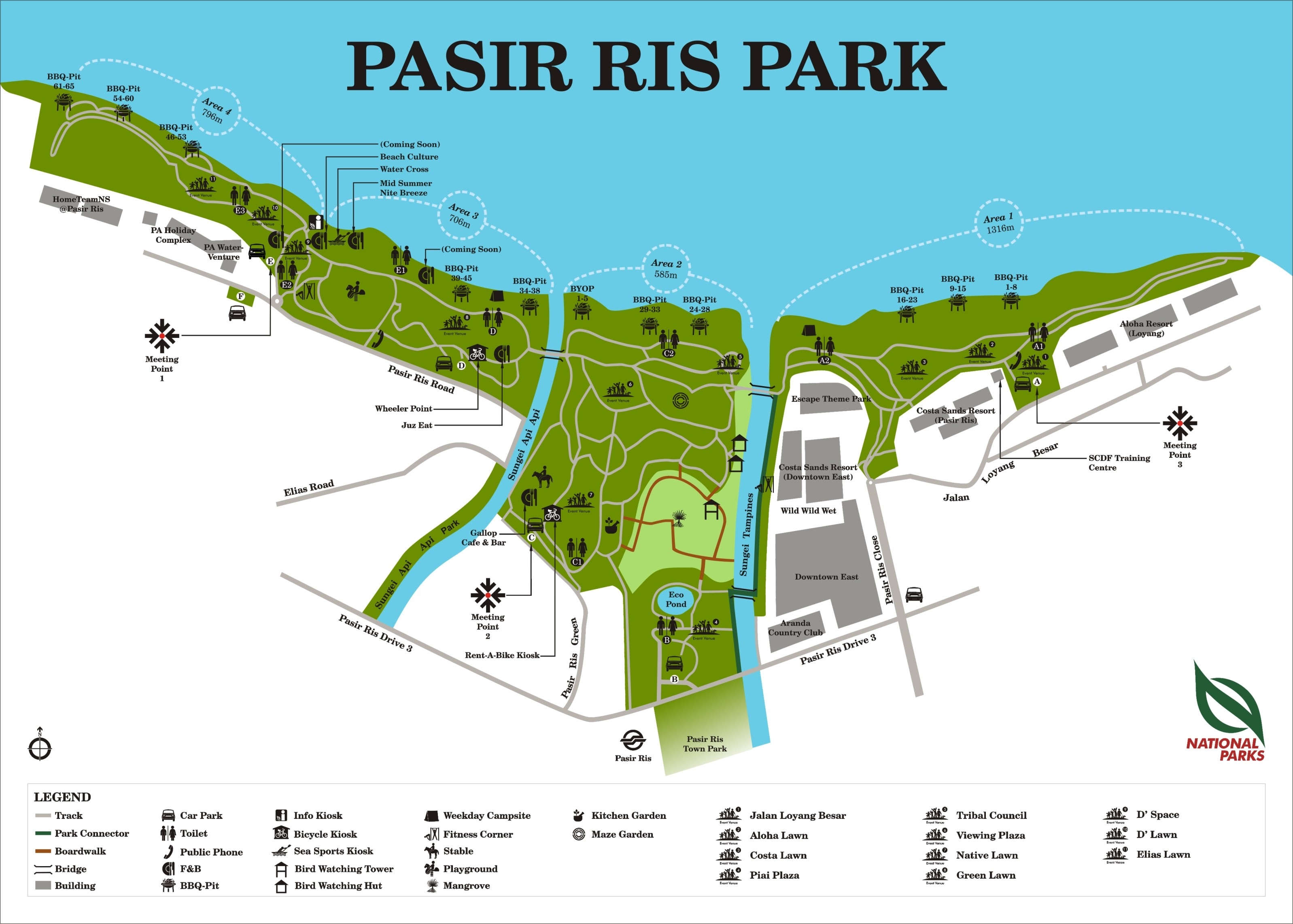 Pasir Ris Park - Parks & Nature Reserves - Gardens, Parks & Nature ...