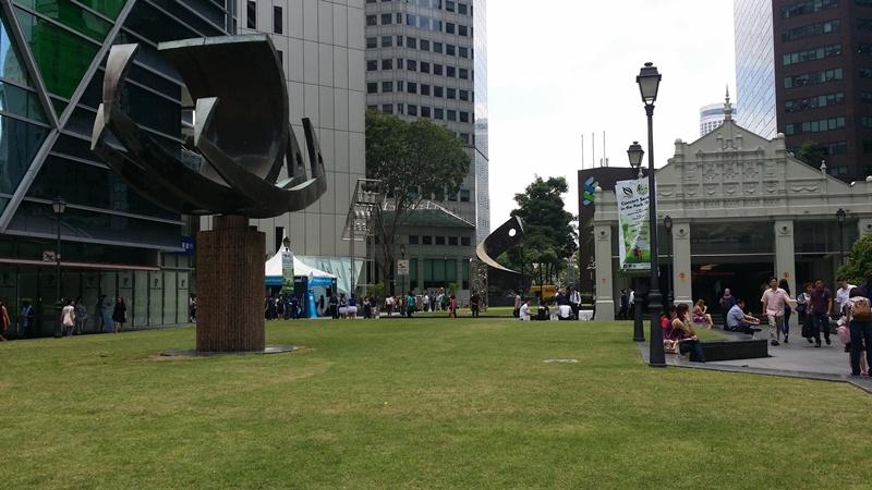 Raffles park singapore