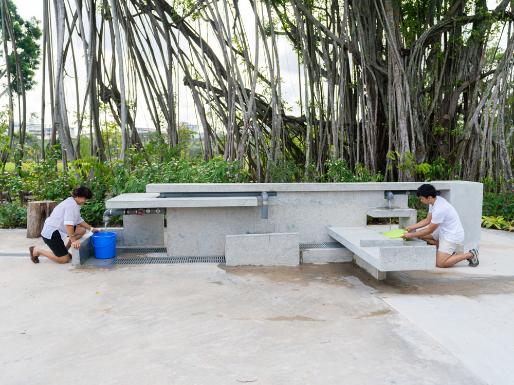 Sembawang Hot Spring Park Water collection point