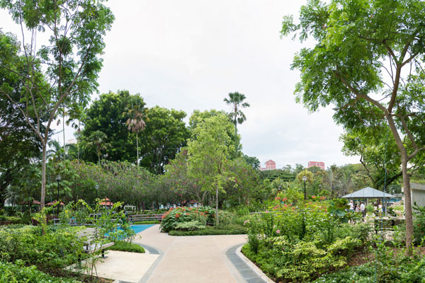 Therapeutic Garden at Tiong Bahru Park