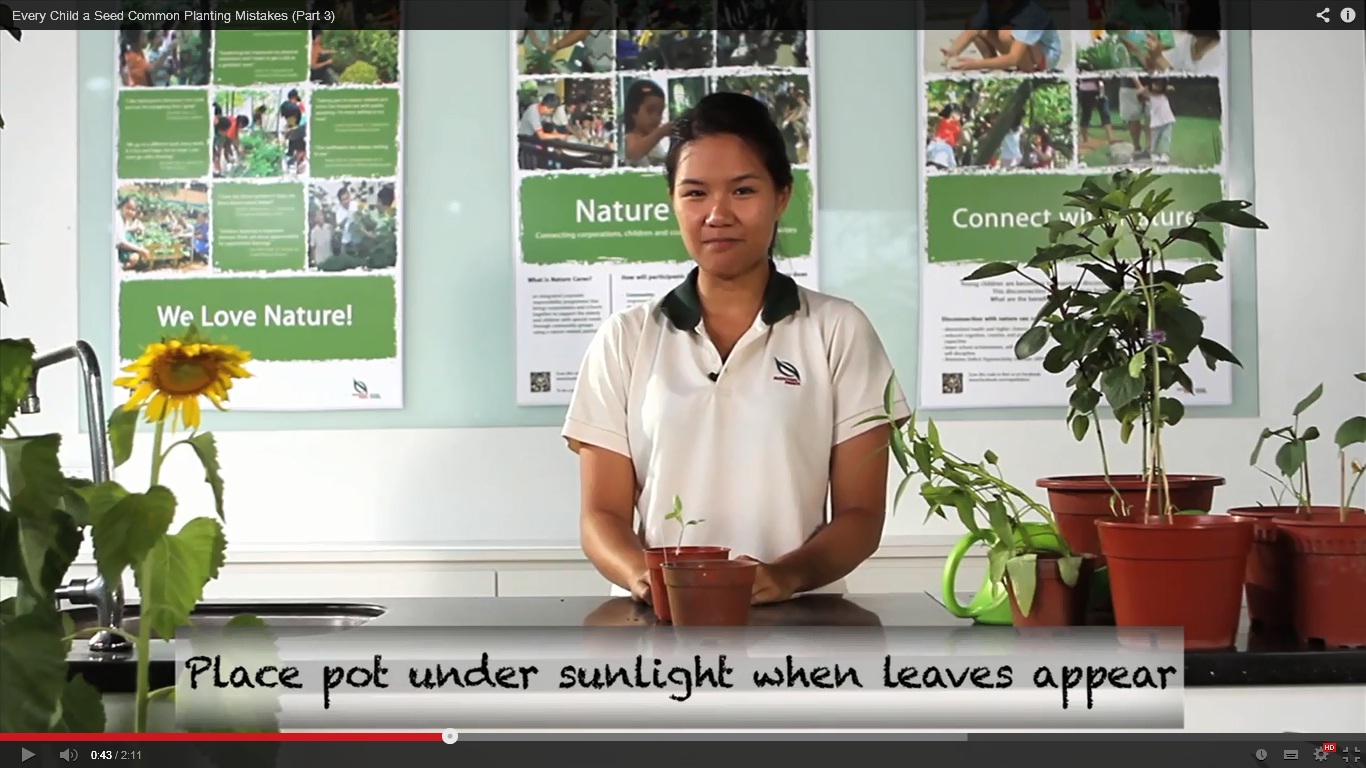 Online Resources - Every Child a Seed - Programmes for Schools