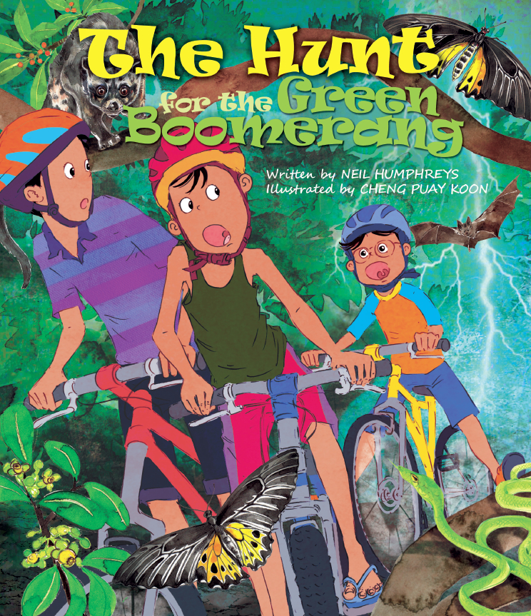 The Hunt for the Green Boomerang Cover Page