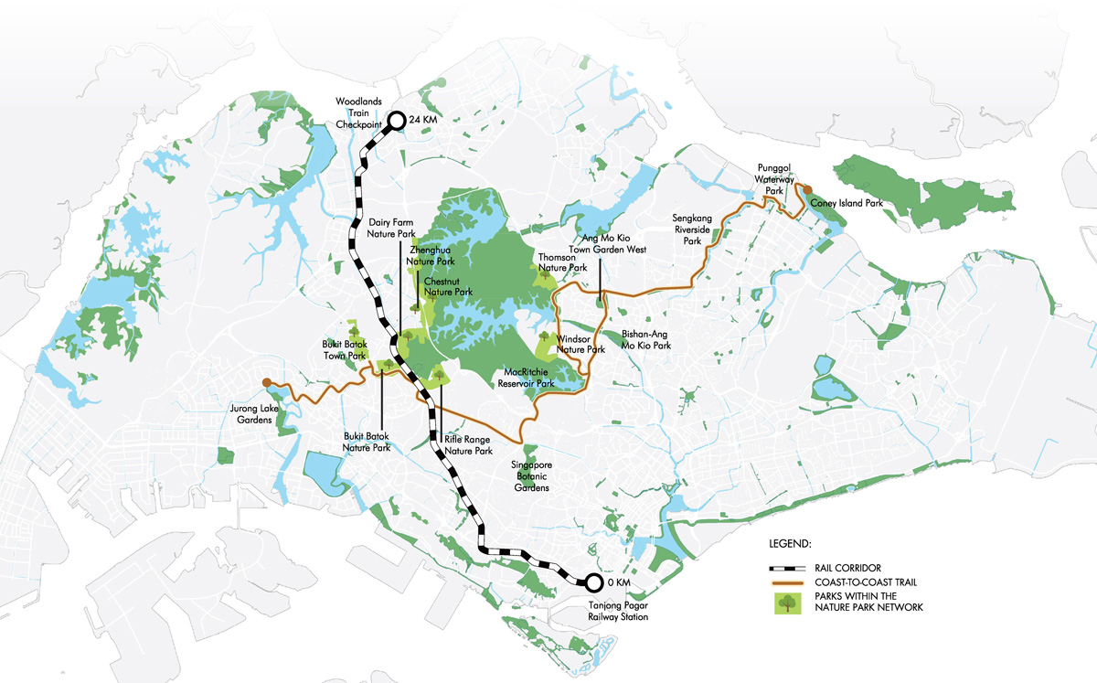 Coast-to-Coast Trail and Nature Park Network