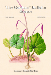 Cover Image of Gardens Bulletin Singapore Vol.72 (01)
