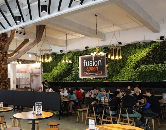 Image of Fusion Spoon interior.
