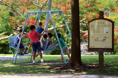 Fort Canning Park (People and Nature) by Michele Rossi