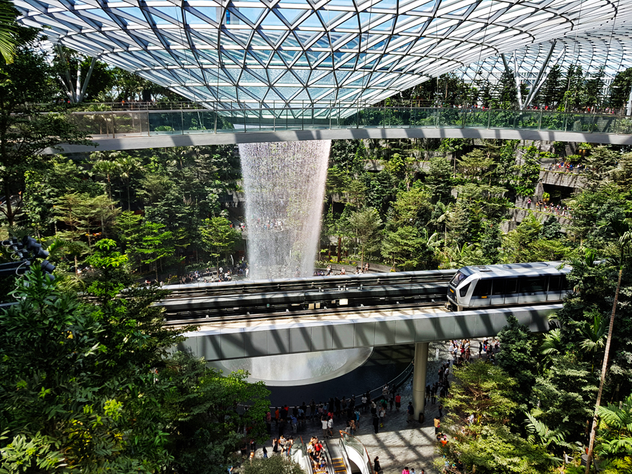 Changi Jewel Sky Terraces