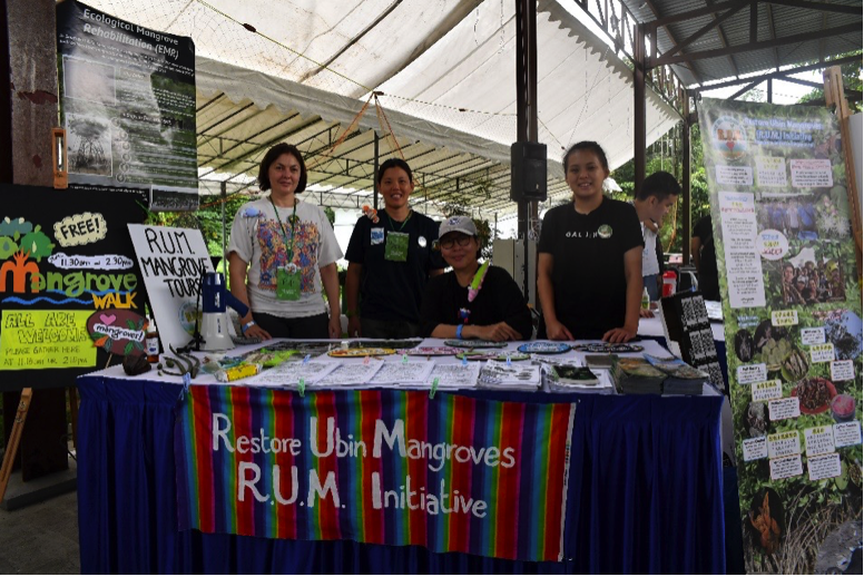 Pesta Ubin booth