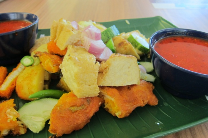 Colourful Addition To Our Array Of Dishes Indian Rojak 480 From The Stall