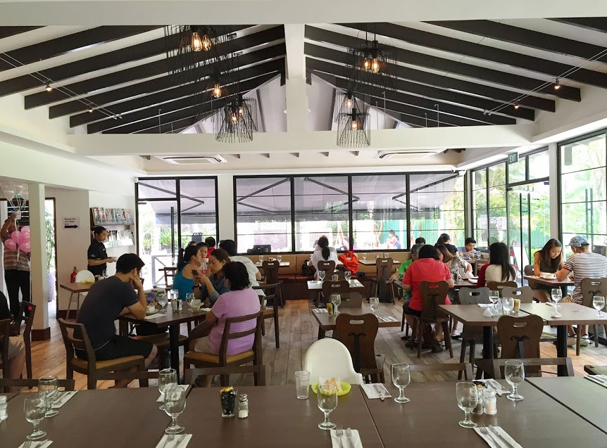 The interior of the restaurant is definitely a big draw with its high placed rafters and natural sunlight providing an ideal dining experience. & Canopy Garden Dining At Bishan-Ang Mo Kio Park