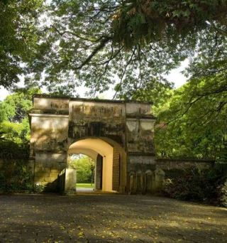 Fort Gate at Fort Canning Park