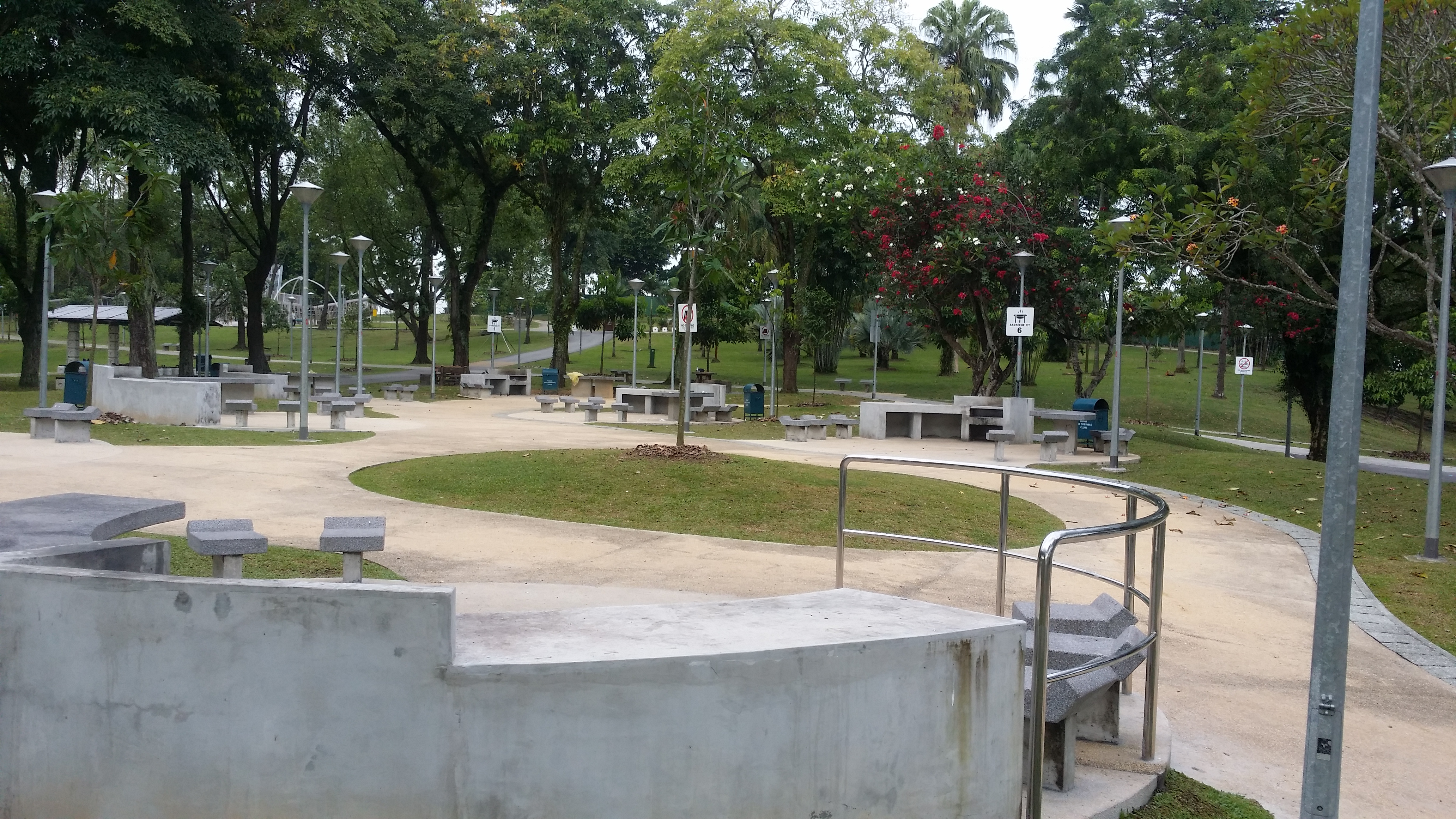 Sembawang Park Barbeque pit