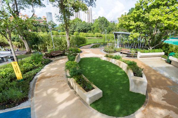 Therapeutic gardens gardens parks nature national for Home garden design singapore
