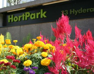 Entrance to HortPark