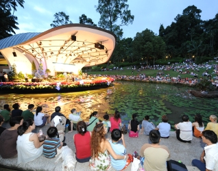 Symphony Stage at Singapore Botanic Gardens