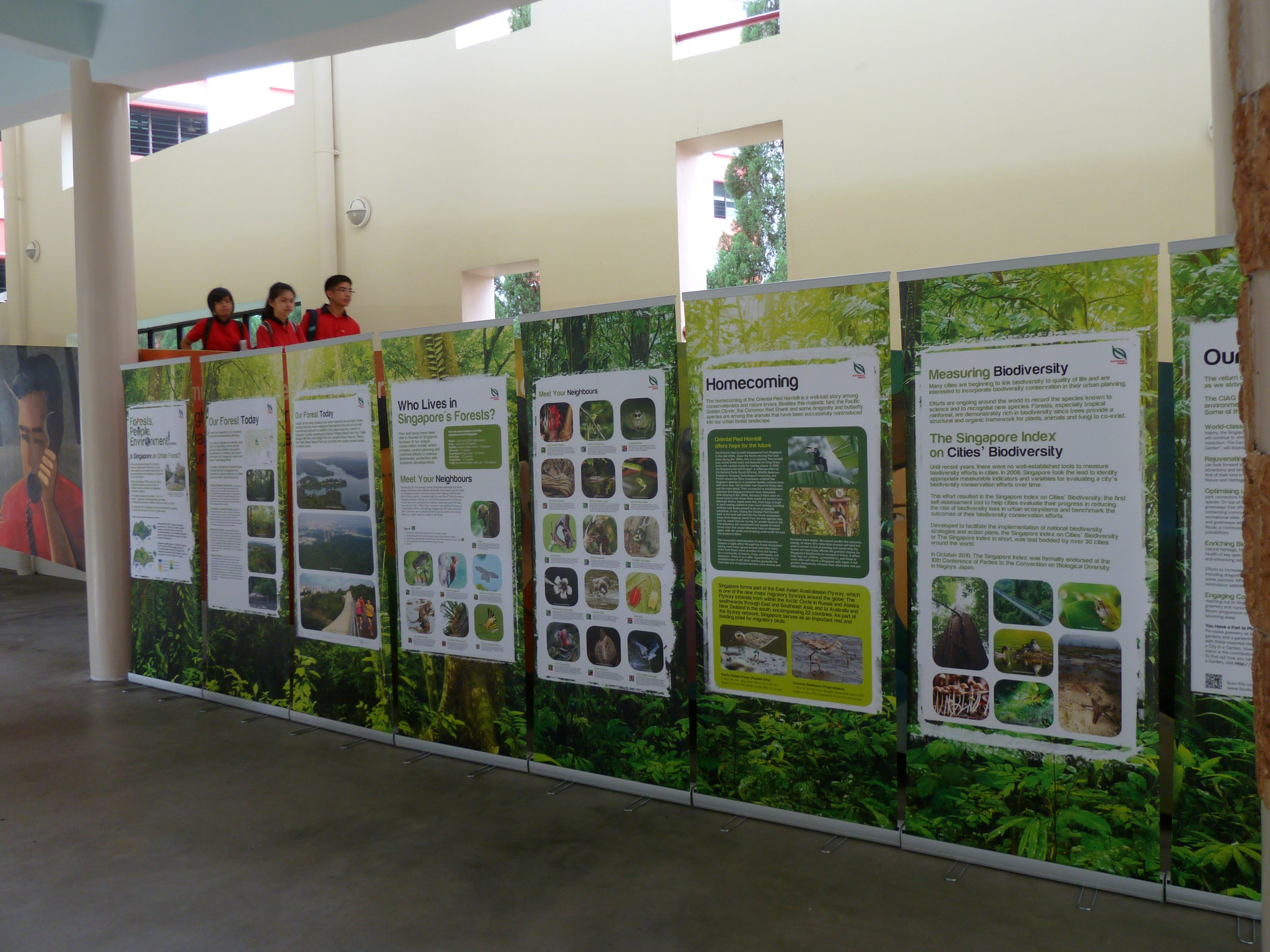 Exhibition Display Panels : Talks and exhibitions for schools programmes