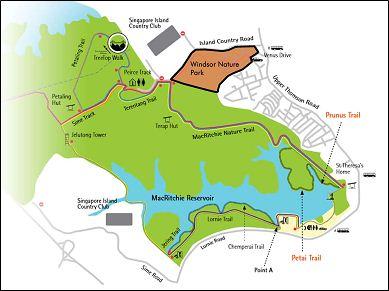 Surrounding Area Of Windsor Nature Park