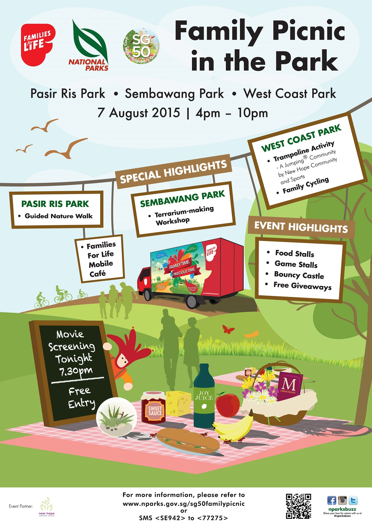 SG50 Family Picnic in the Park - - - What's On ...